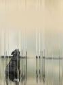 « Aboiements » - Décembre 2014 – Relation à l'image © V.Champigny - (30×20) sur papier baryté, contrecollé sur plaque de Dibond)