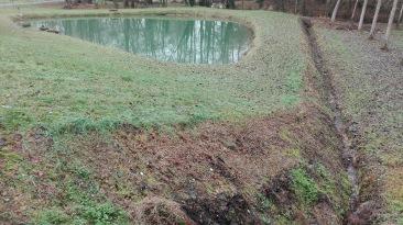 Dordogne, plans d'eau
