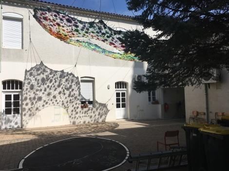 Archipels féériques © V.Champigny Résidence 6 mois 2017 Installation Port Sainte Foy et Ponchapt