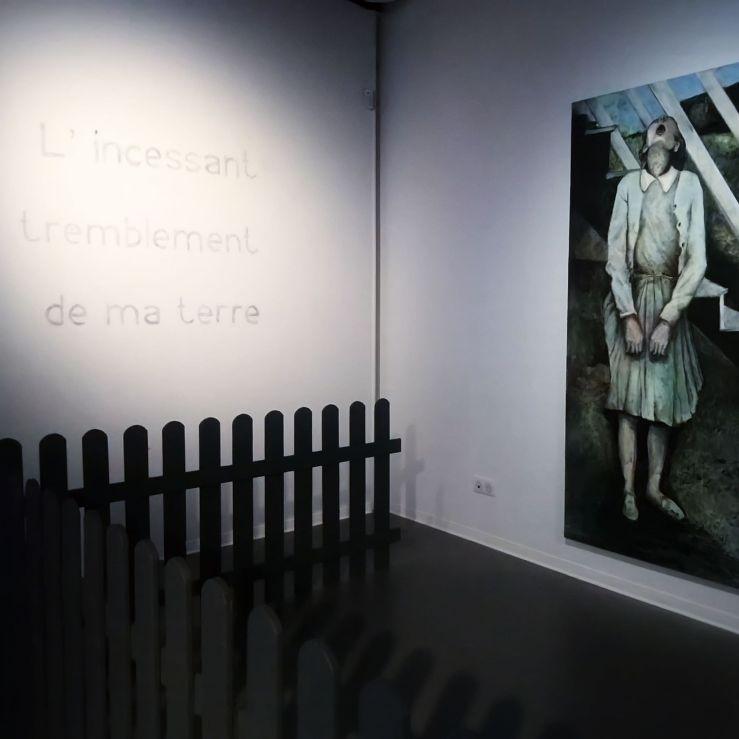 "Installation ""l'incessant"" Sortie13 Valérie Champigny"