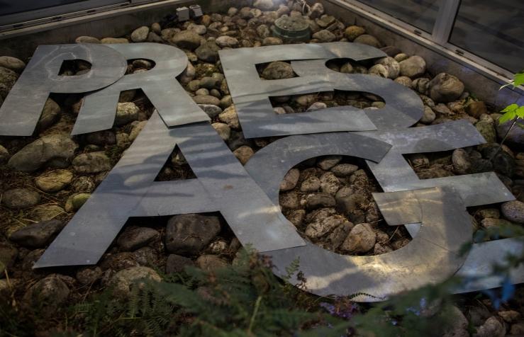 "Installation ""Nuage - présage"" Sortie13 Valérie Champigny"
