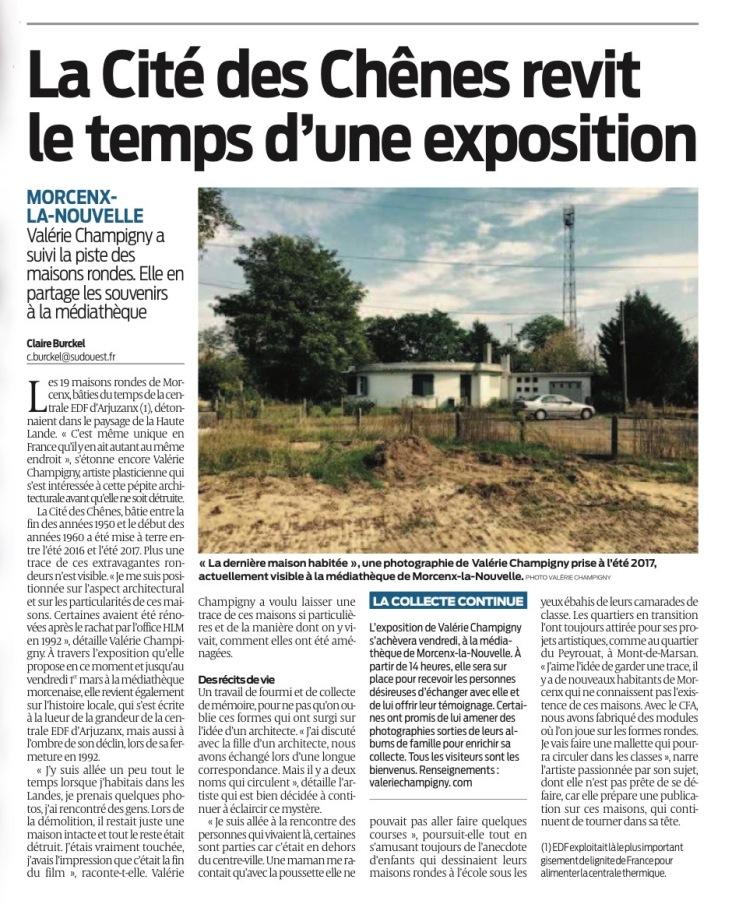 Article_SO_Résidence_V_Champigny_MORCENX